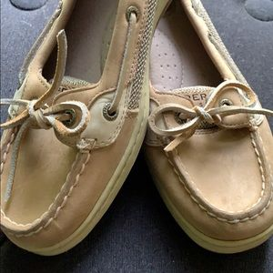 Women Leather Sperry Top Sider
